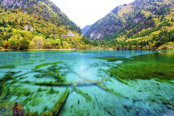 Долина Цзючжайгоу, Провинция Сычуань, Китай