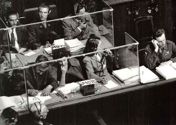 синхронный перевод Нюрнбергский процесс