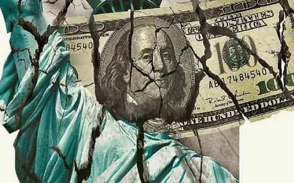 Разрушение доллара США