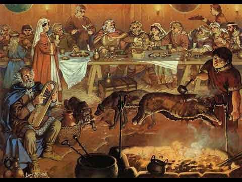 Викинги имели разнообразную кухню и культуру