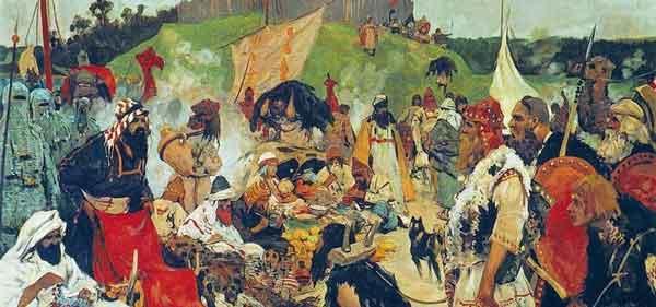У викингов была процветающая работорговля
