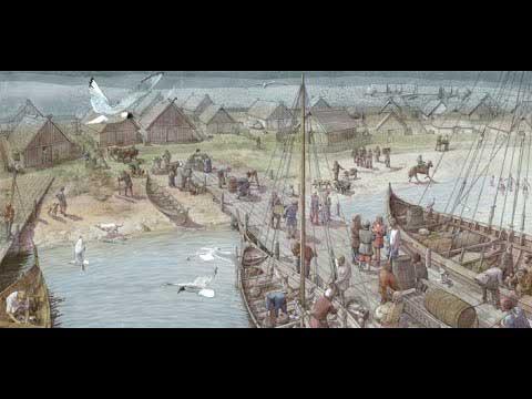 Многочисленные европейские города были основаны викингами