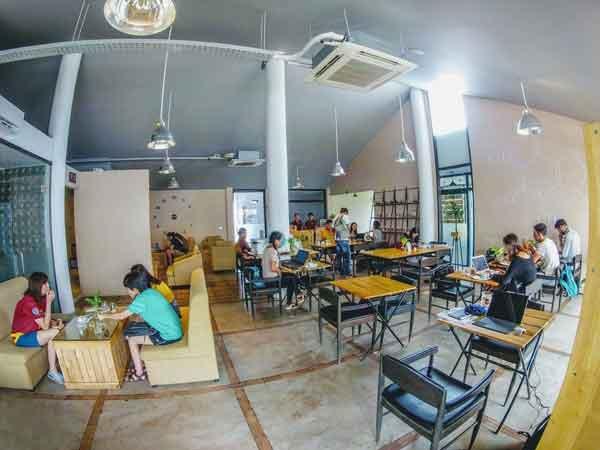 Обед В BioLab Café