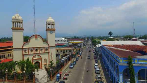 Ла Сейба служит воротами на острова залива Гондурас
