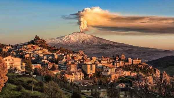 Гора Этна
