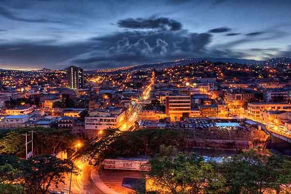 Столица Гондураса-Тегусигальпа