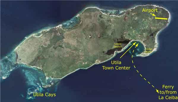 Самый маленький остров в Гондурасе-Утила
