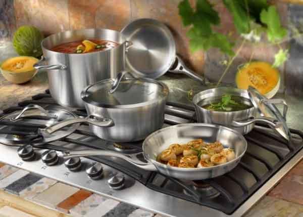 приготовление пищи в алюминии