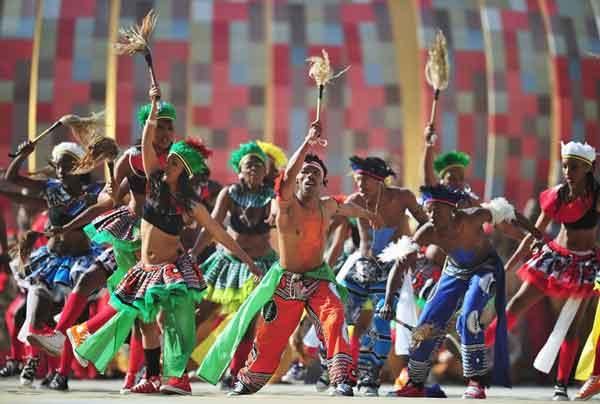 «Бамбуковые танцы» в Южной Африке
