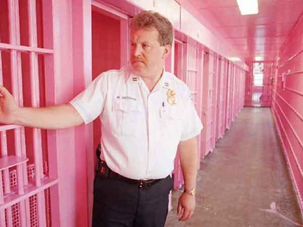 Розовый цвет в тюрьмах