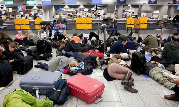 Ограниченное количество мест в аэропортах