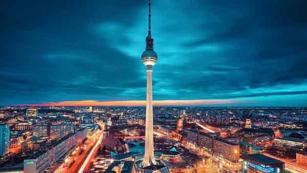 Берлинская телебашня