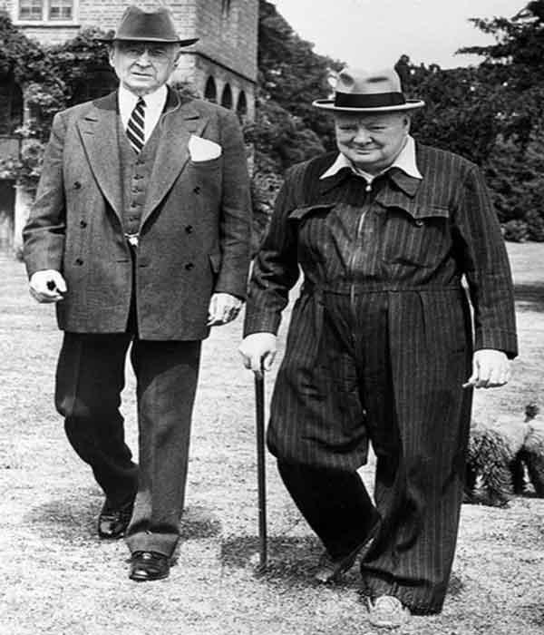 Бернарду Баруху и Черчилль