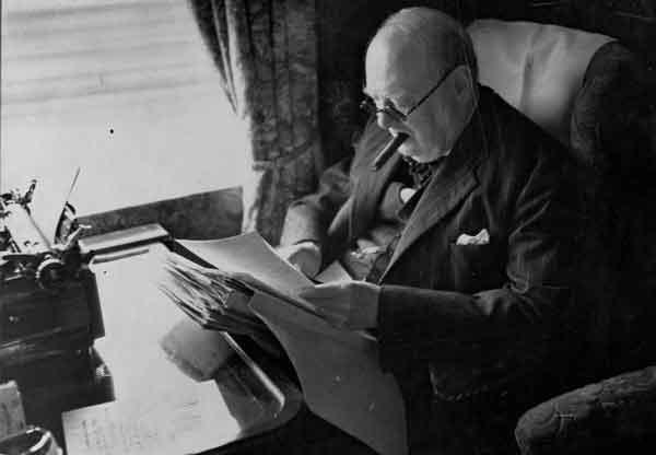 Уинстон Черчилль был успешным писателем