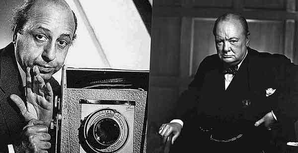 самых известных снимков Черчилля был сделан фотографом Юсефом Каршем