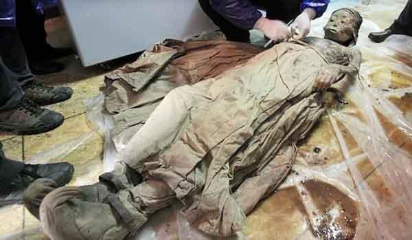 600-летняя мумия из Китая