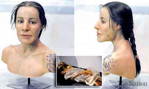 Сибирская Ледяная дева и ее татуировки