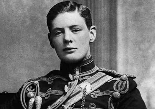 Уинстон Черчилль в молодости