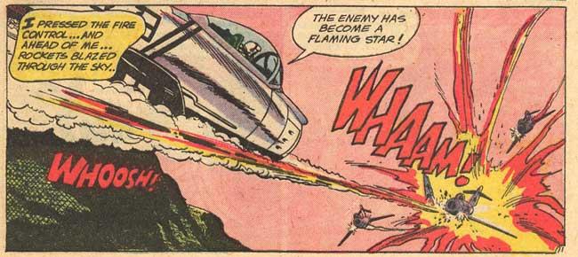 """Оригинальным художником """"Whaam!"""" был американский иллюстратор комиксов Ирв Новик"""