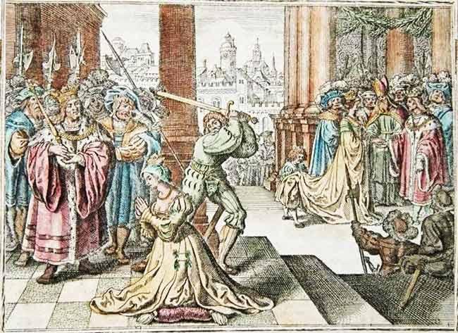 Анна Болейн была казнена