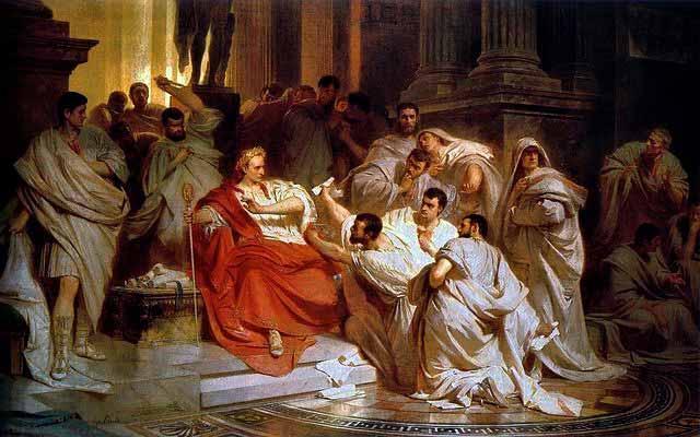 Цезарь стал диктатором