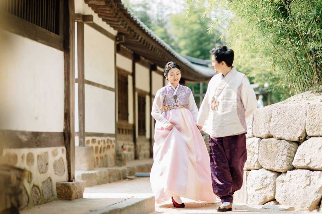 Корея - ханбок