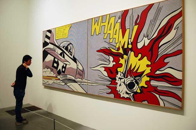 """Whaam!"" - самая известная картина Роя Лихтенштейна"