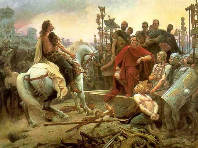 Цезарь завоевал Галлию
