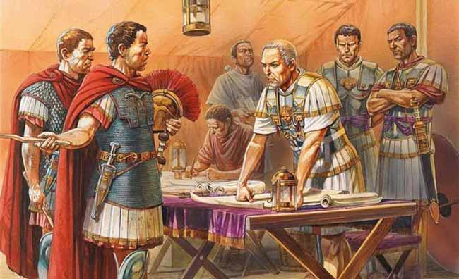 Юлий Цезарь считается величайшим военачальником в истории