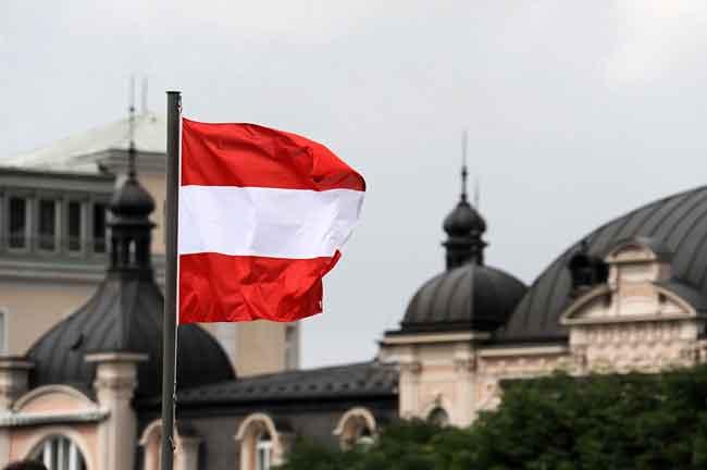 Австрийский флаг - один из старейших в мире