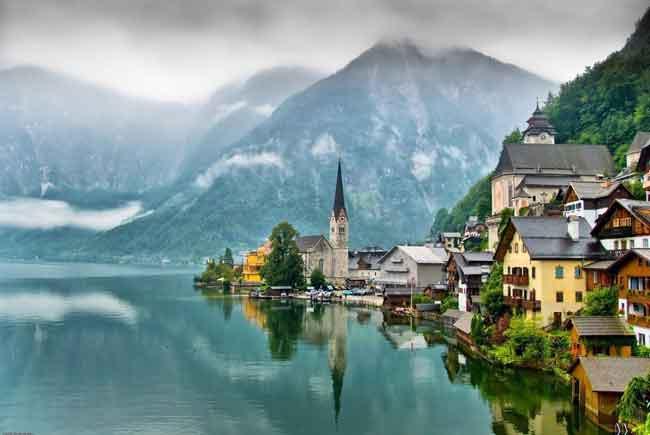 Австрия входит в десятку самых богатых стран Европы