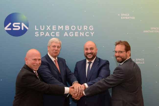 Люксембург space agency