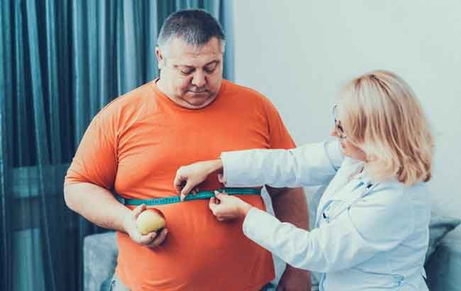 избыточный вес у мужчин в Австрии