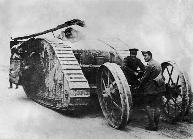 Технологические достижения первой мировой войны