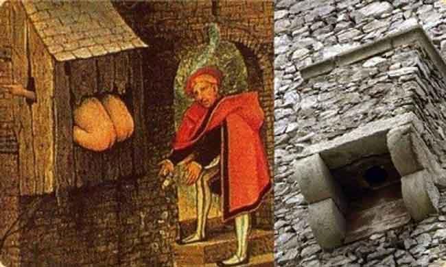 Туалетные процедуры в средние века