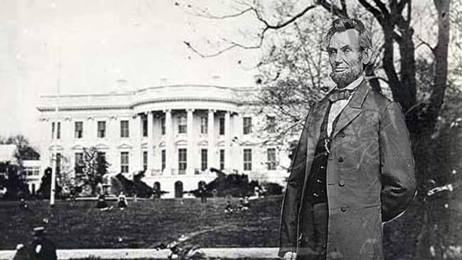 Дух Авраама Линкольна в Белом доме