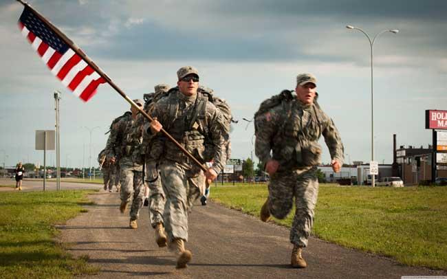 Военные – это самые уважаемые люди в США