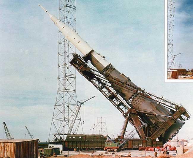 Советская ракета Н-1