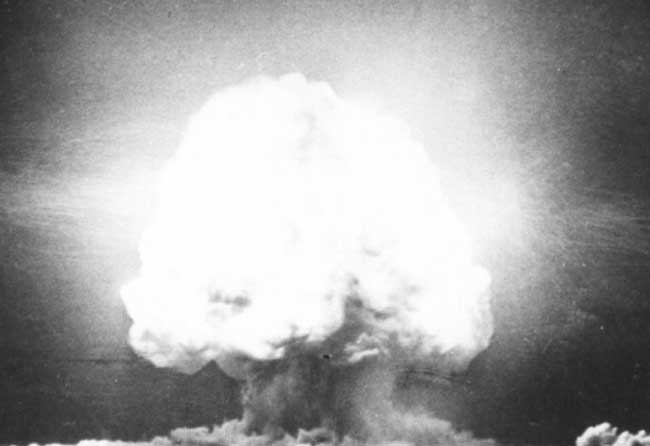Аламогордо – первая в истории ядерная бомба