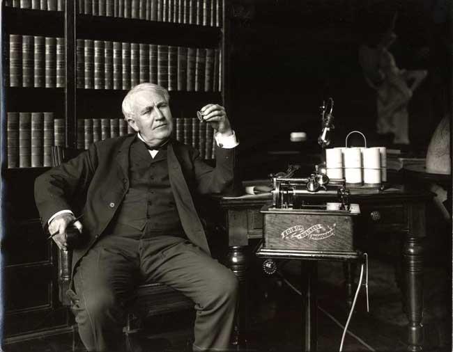 Томас Эдисон (1847 –1931)