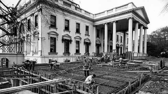 Белый дом построенный на спинах рабов