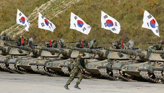Южная Корея армия