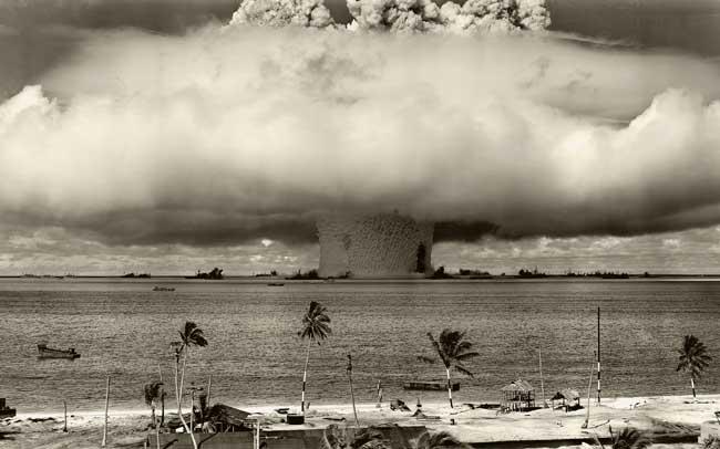 Перекресток - ядерное разрушение из глубин