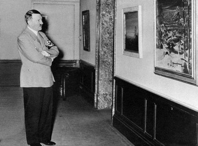 Адольф Гитлер хотел поступить в художественную школу