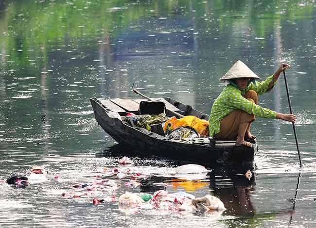 Река Меконг испытывает серьезные проблемы с загрязнением