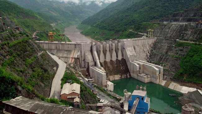 Гидроэнергетическое строительство реки Меконг