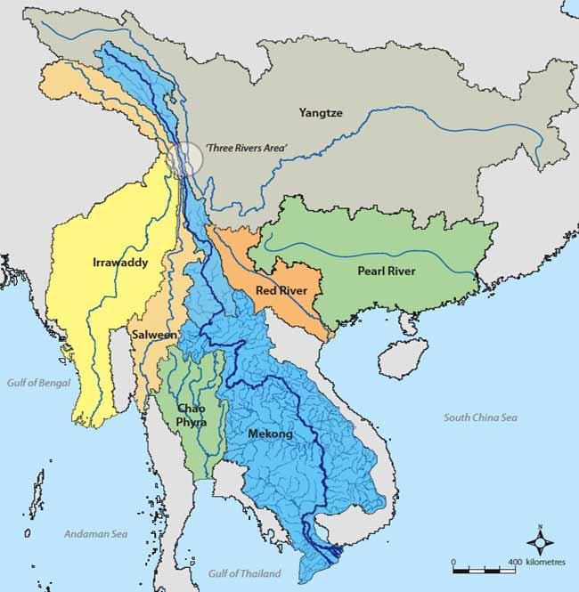 Бассейн реки Меконг