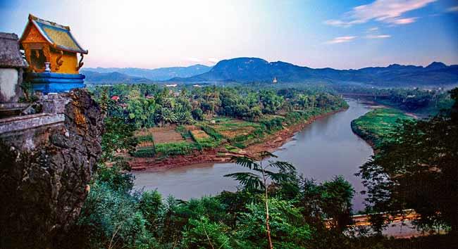 Меконг-седьмая по длине река в Азии