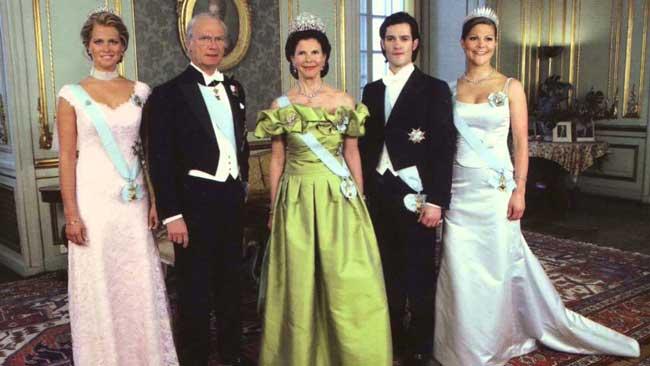Монархия в Швеции
