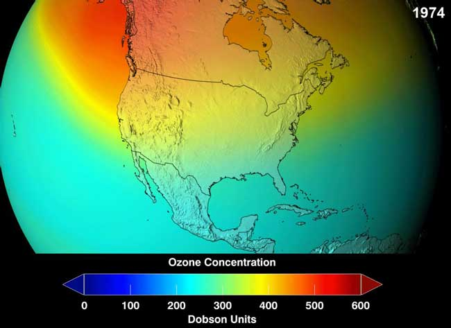 Проблемы с озоном